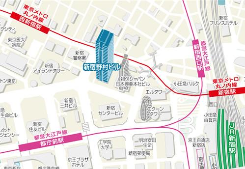 東京都新宿区西新宿1-26-2. 地図